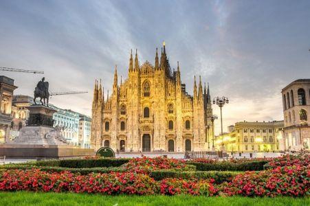 Miláno letecky sluxusními nákupy