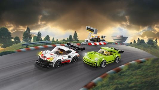 LEGO® SPEED CHAMPIONS Porsche 911 RSR a 911 Turbo 3,0