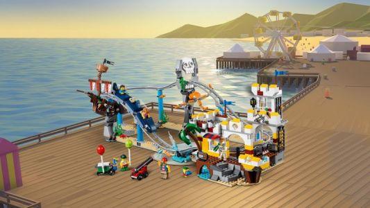 LEGO® CREATOR Pirátská horská dráha