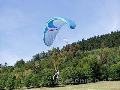 Tandem paragliding v Beskydech a Českém Ráji