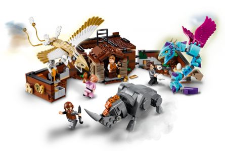 LEGO® Harry Potter Mlokův kufr plný kouzelných tvorů