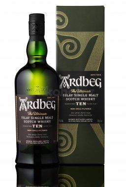 Ardbeg 10y 0,7l, 46% - Nejlepší skotská whisky
