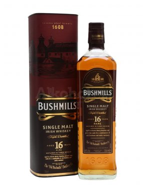 Bushmills Three Wood 16y 0,7l 40% - Nejlepší irská whiskey