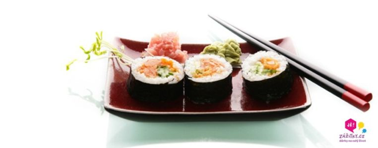 Kurz Sushi přímo ve Vaší kuchyni