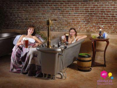 Originální chmelová terapie se zábalem, masáží a občerstvením