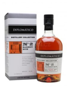 Rum Diplomatico No. 2 Barbet Rum Distillery Collection