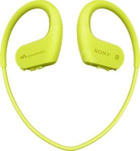 Vodotěsná sluchátka s MP3 přehrávačem